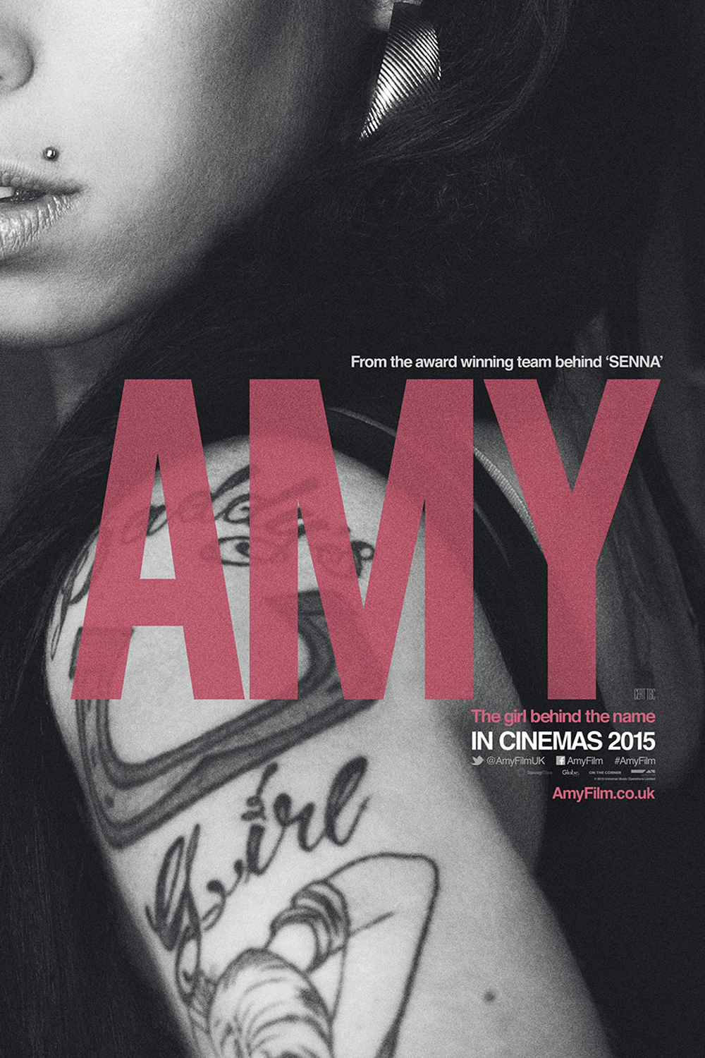 Poster documental Amy Winehouse