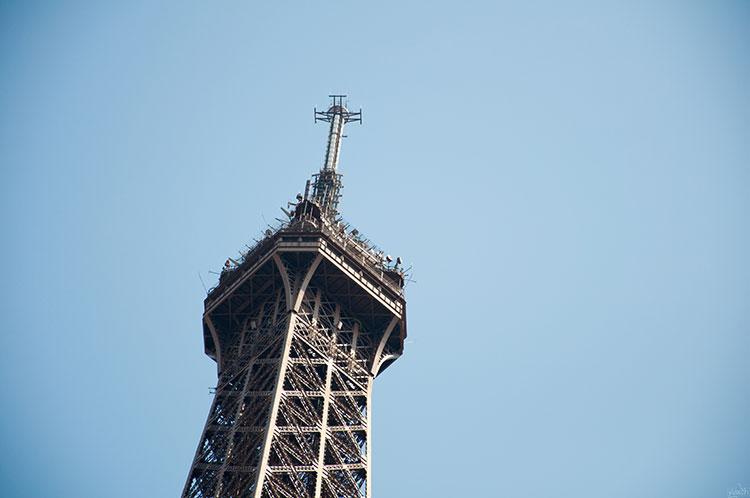 Torre-Eiffel-antena