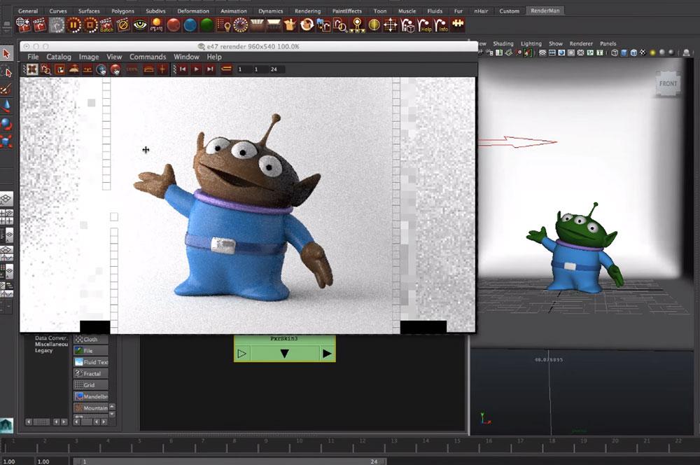 Si ntete un dise ador m s de pixar con renderman gratis for Disenador de cocinas online gratis