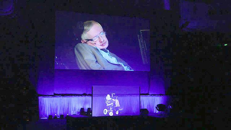 Stephen-Hawking holograma