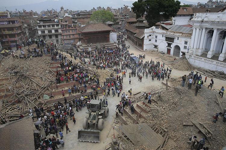 Plaza Durbar Katmandu despues