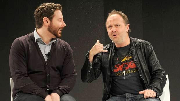 Lars Ulrich y Sean Parker se reencontraron