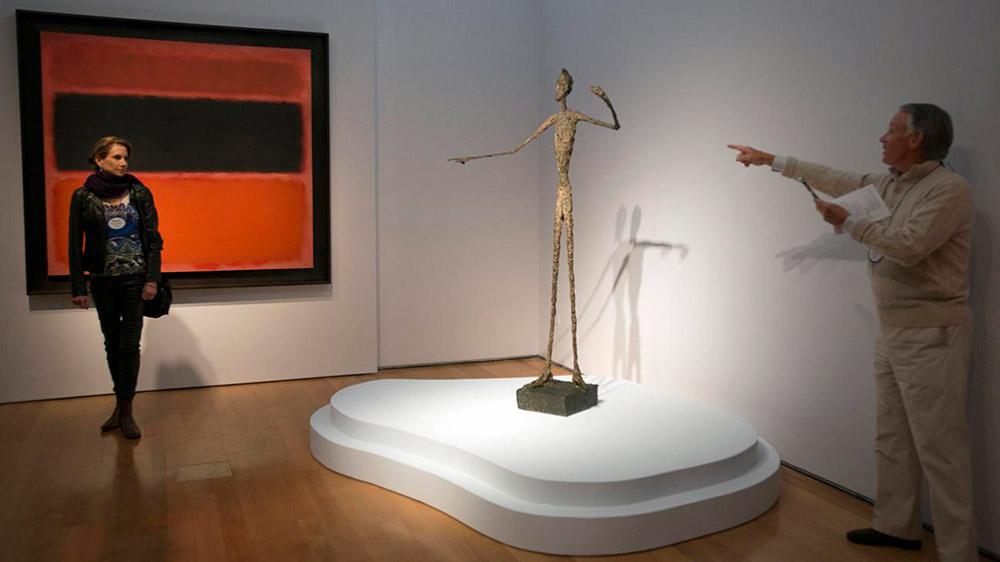 Alberto Giacometti - L'homme au doigt