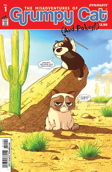 Grumpy cat comic