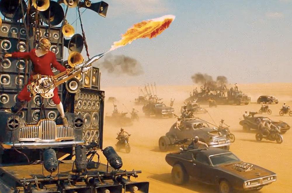 La historia de Doof Warrior, el guitarrista estrella de 'Mad Max: Fury  Road' - applauss.com