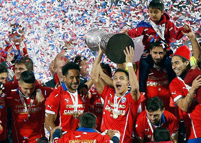 Chile Campeón de Copa América 2015