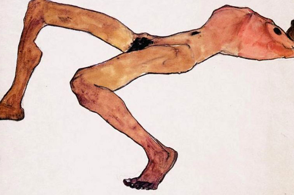 Egon-Schiele-Sitting-male-act-large