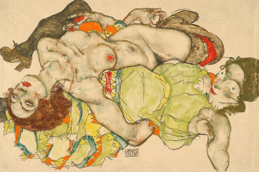 Egon-Schiele-female-lovers