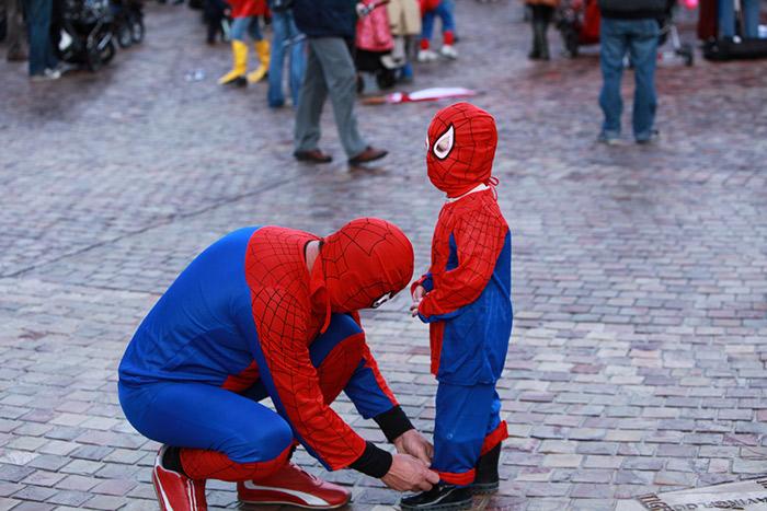 padre-e-hijo-spiderman