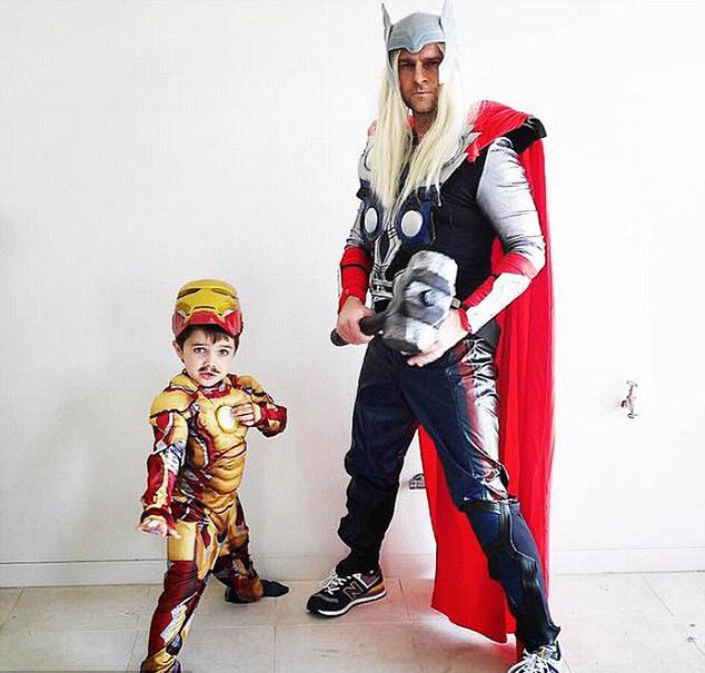 padre-e-hijo-thor-iron-man