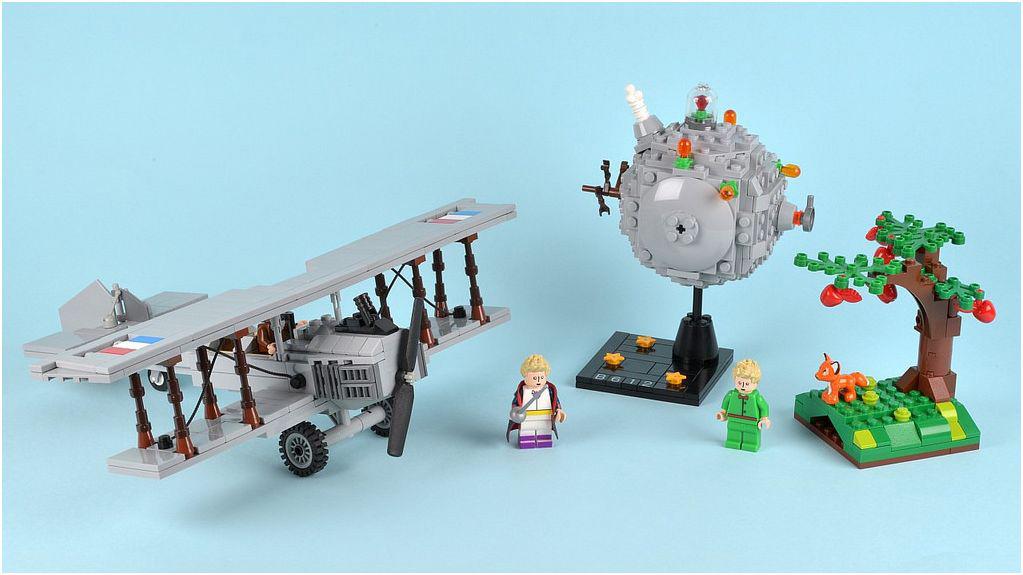 El proyecto que quiere llevar la fantasía de 'El Principito' al mundo Lego