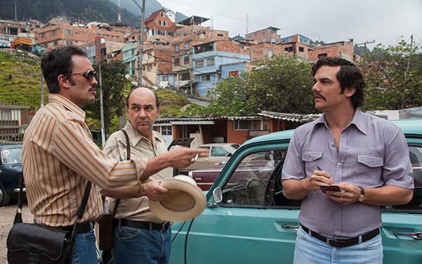 Paulina García y Luis Gnecco, los chilenos presentes en 'Narcos' de Netflix