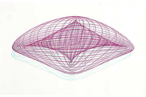 Los espectaculares dibujos hechos por un tocadisco