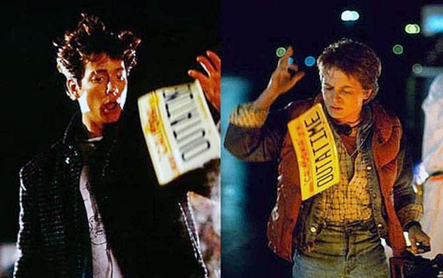 Volver al Futuro - Los dos actores como Marty