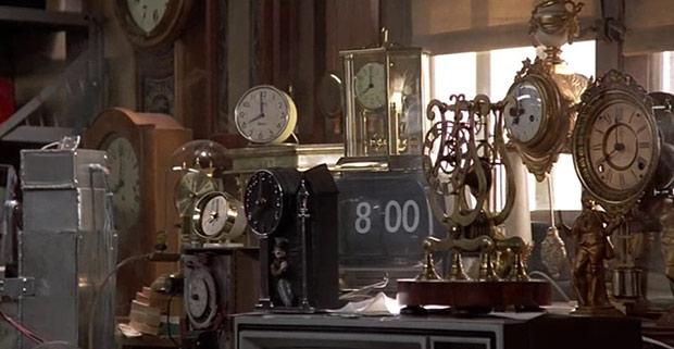 Volver al futuro - Relojes en el taller