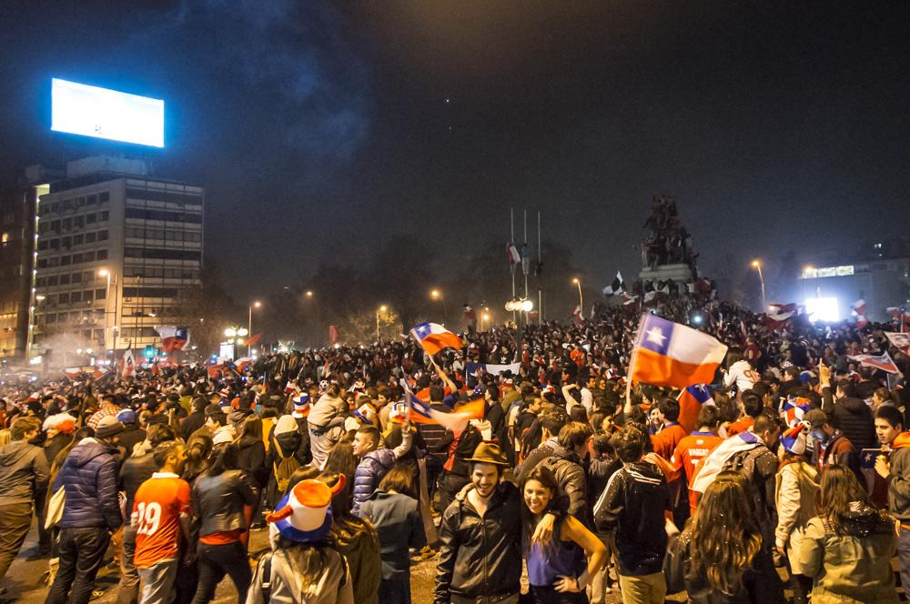 Chile Campeón de América 2015 | Fotógrafo: Javier Valenzuela