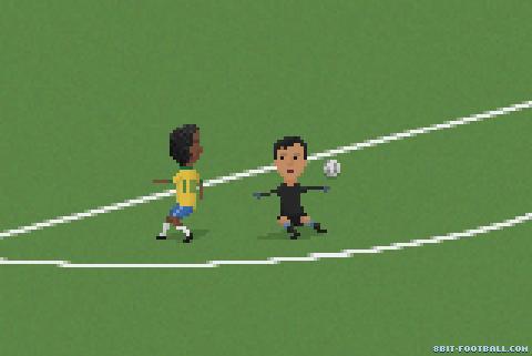10 momentos del fútbol mundial recreados en 8 bits