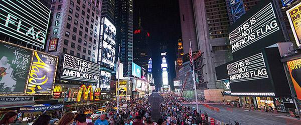 Alfredo Jaar Times Square
