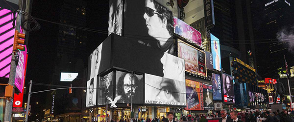 Andy Warhol Times Square
