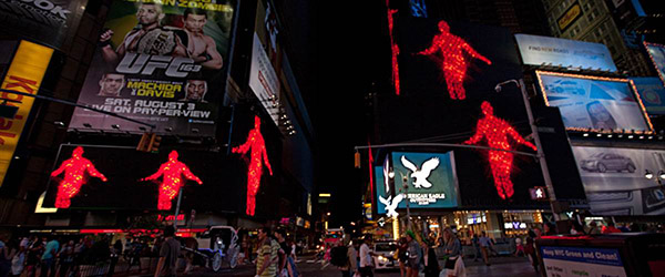 Jack Goldstein Times Square