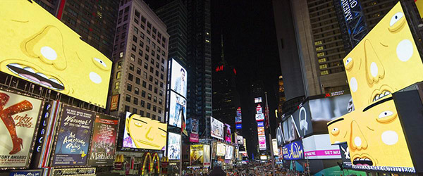 OSGEMEOS Times Square