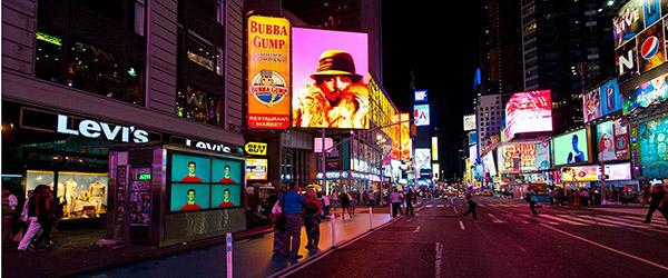 Robert Wilson Times Square