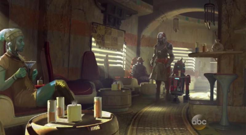 Star Wars parque tematico