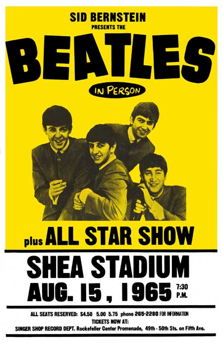 The Beatles Shea Stadium 1965