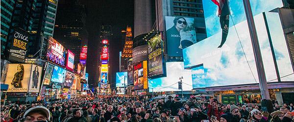 Yoko Ono Times Square