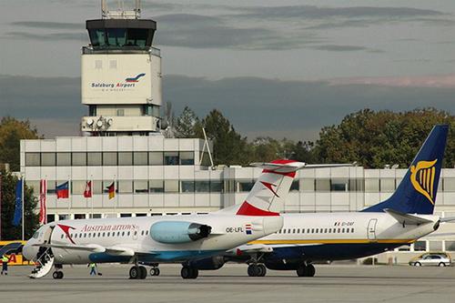 Aeropuerto Wolfgang Amadeus Mozart de Salzburgo