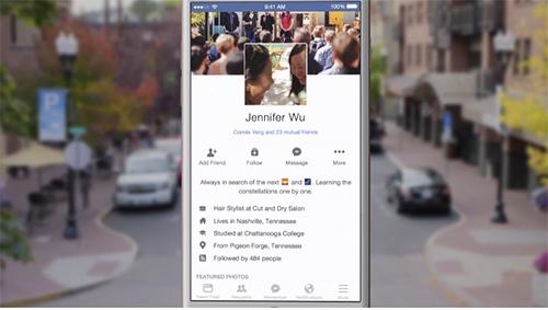 Facebook video foto perfil