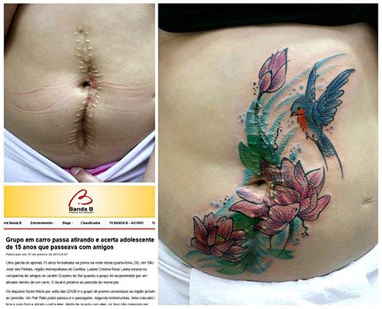 Flavia Carvalho tatuajes