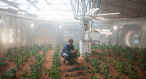 Mision Rescate NASA Matt Damon