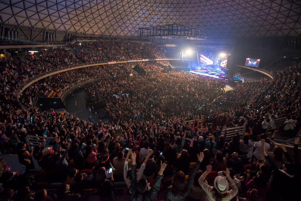 CHAYANNE en Chile - 09 octubre 2015 | Fotógrafo: Javier Valenzuela