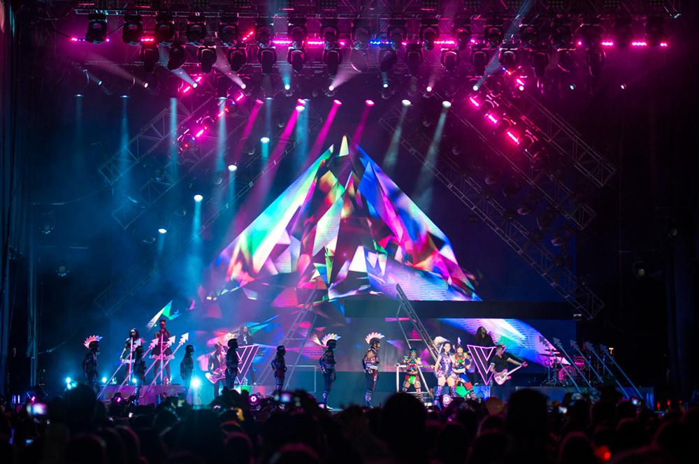Katy Perry en Chile   Fotógrafo: Javier Valenzuela