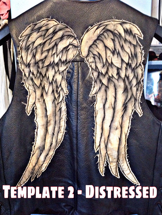Chaqueta con alas Daryl The Walking Dead