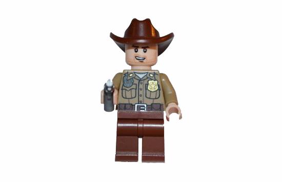 Rick Grimes en Lego