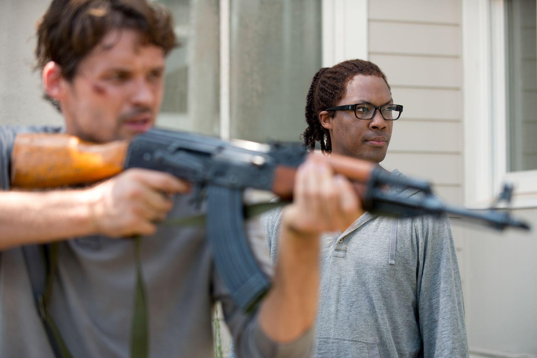 Spencer Heath Aaron The Walking Dead