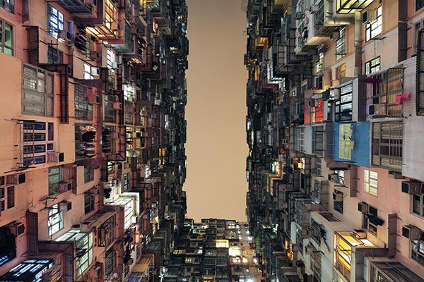 Tan Lingfei edificios en uso