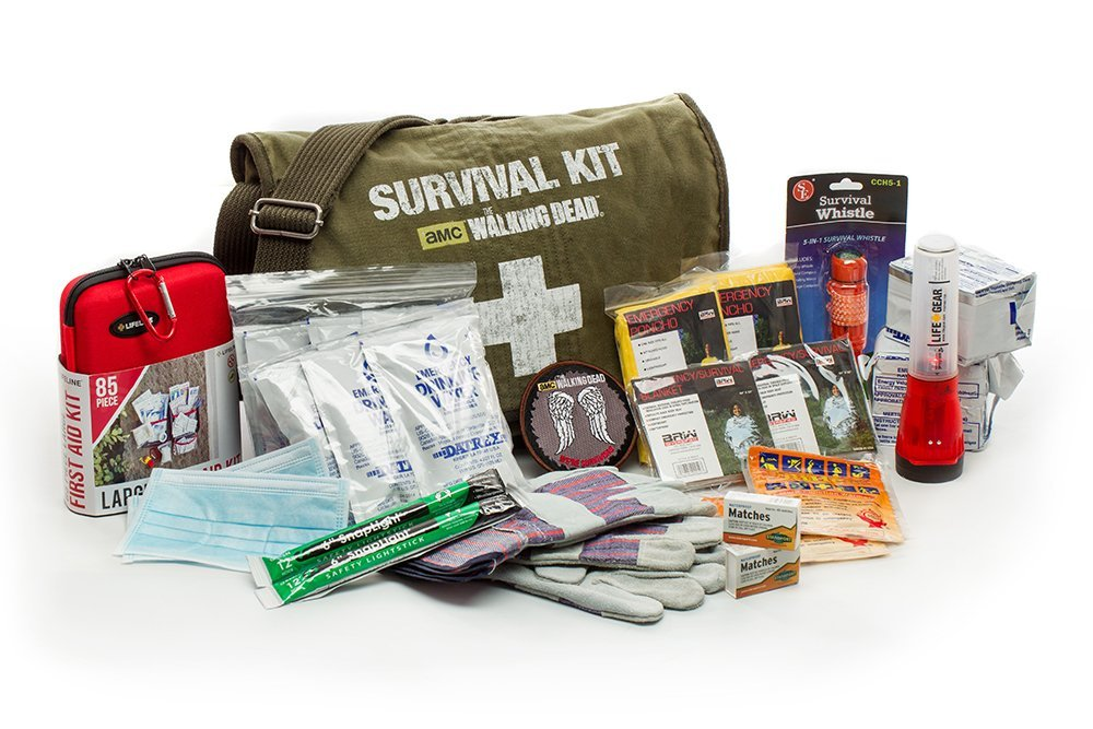 The Walking Dead Kit de superviviencia