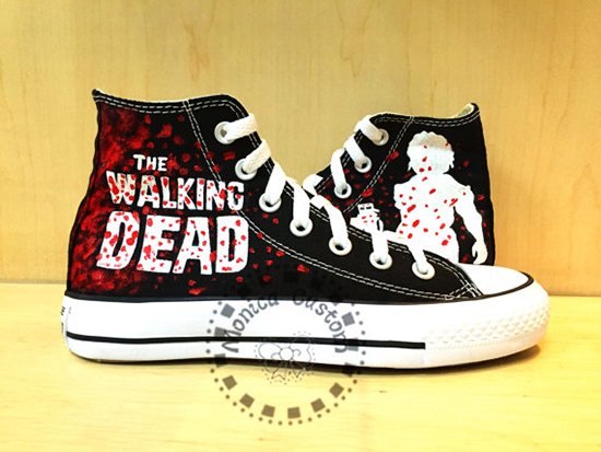 The Walking Dead converse