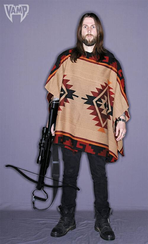 The Walking Dead poncho Daryl