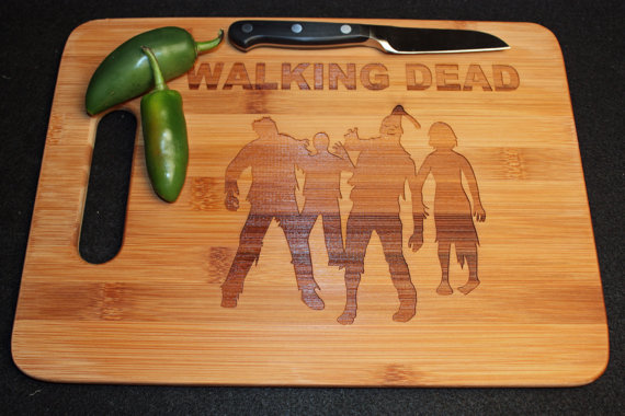 The Walking Dead tabla de cortar