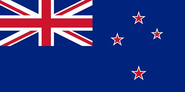 Bandera Nueva Zelanda actual