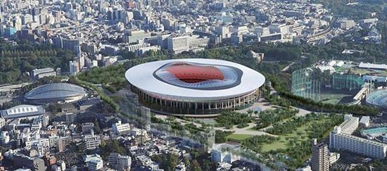 Estadio Olimpico Tokio 2020 Diseño B