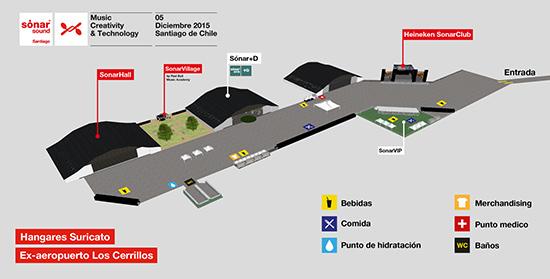 SonarSound Santiago mapa