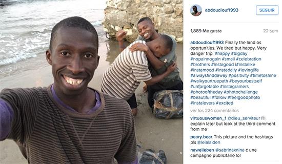 inmigrante instagram