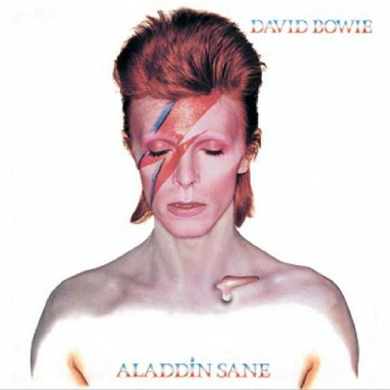 David Bowie Aladdin Sane rayo