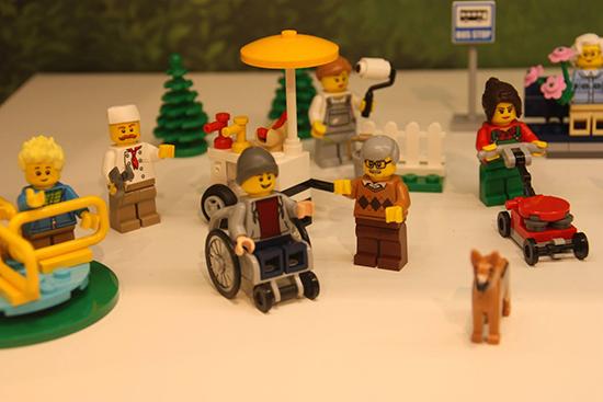 Lego silla de ruedas