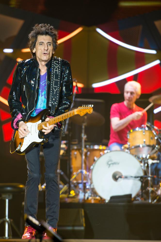 Ron Wood - The Rolling Stones en Chile   Fotógrafo: Javier Valenzuela